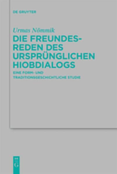 Die Freundesreden des ursprünglichen Hiobdialogs - Coverbild