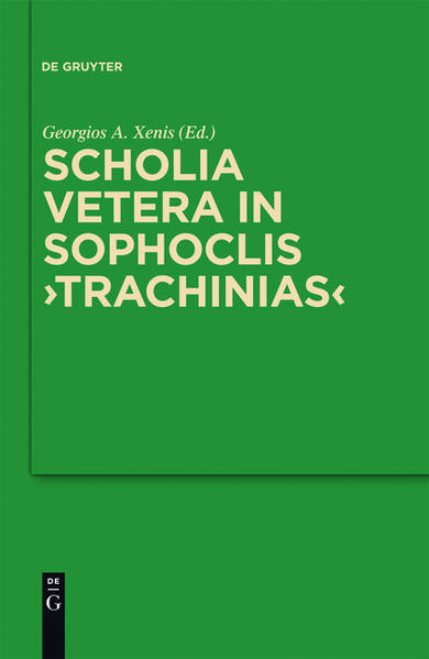 Scholia vetera in Sophoclis