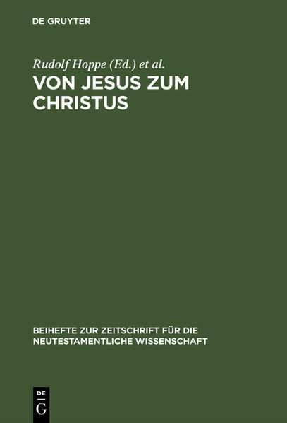 Von Jesus zum Christus - Coverbild