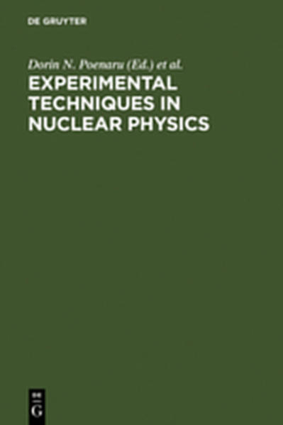 Experimental Techniques in Nuclear Physics - Coverbild
