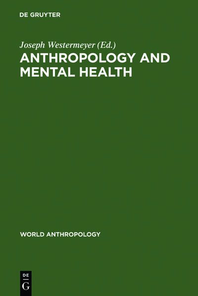 Anthropology and Mental Health - Coverbild