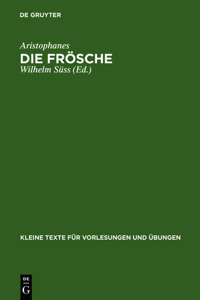 Die Frösche - Coverbild