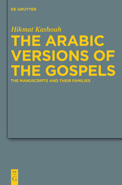 The Arabic Versions of the Gospels - Coverbild