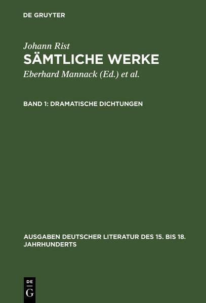 Sämtliche Werke / Dramatische Dichtungen - Coverbild