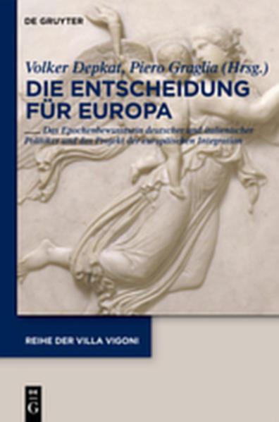 Entscheidung für Europa - Decidere l'Europa - Coverbild