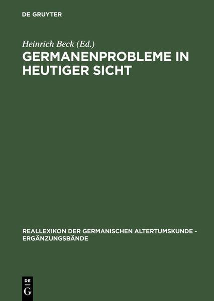 Germanenprobleme in heutiger Sicht - Coverbild