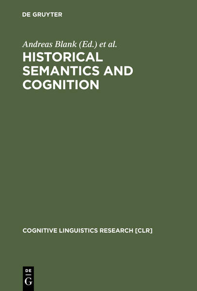 Historical Semantics and Cognition - Coverbild