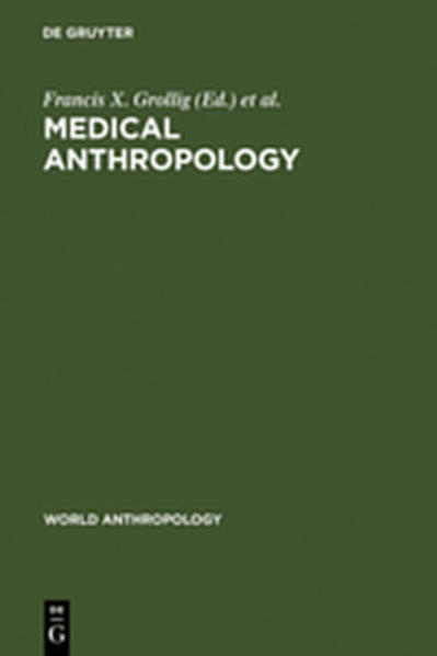Medical Anthropology - Coverbild