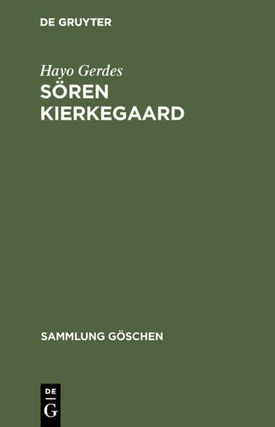 Sören Kierkegaard - Coverbild