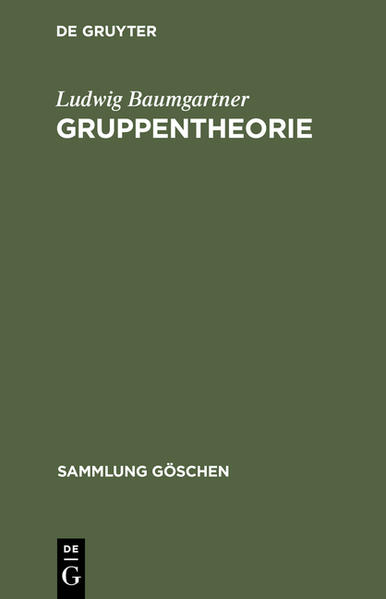 Gruppentheorie - Coverbild