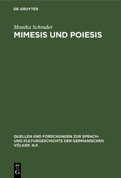 Mimesis und Poiesis - Coverbild