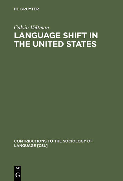 Language Shift in the United States - Coverbild
