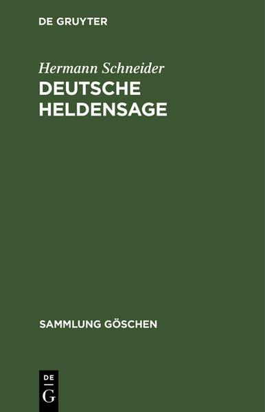 Deutsche Heldensage - Coverbild