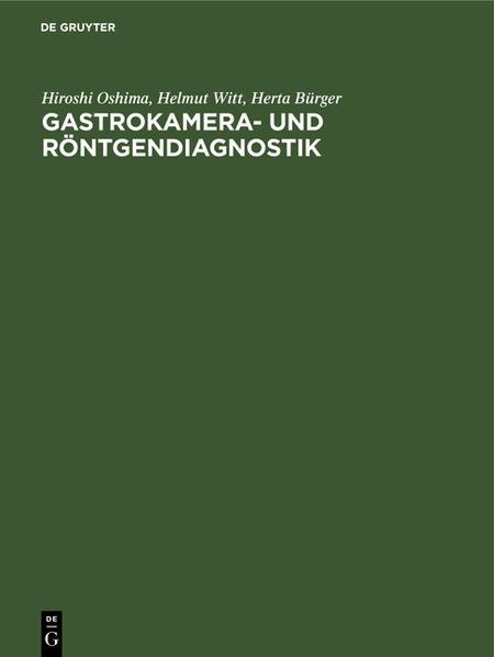 Gastrokamera- und Röntgendiagnostik - Coverbild