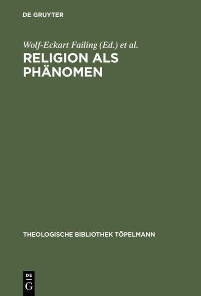 Religion als Phänomen - Coverbild
