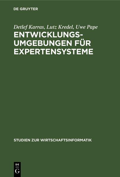 Entwicklungsumgebungen für Expertensysteme - Coverbild
