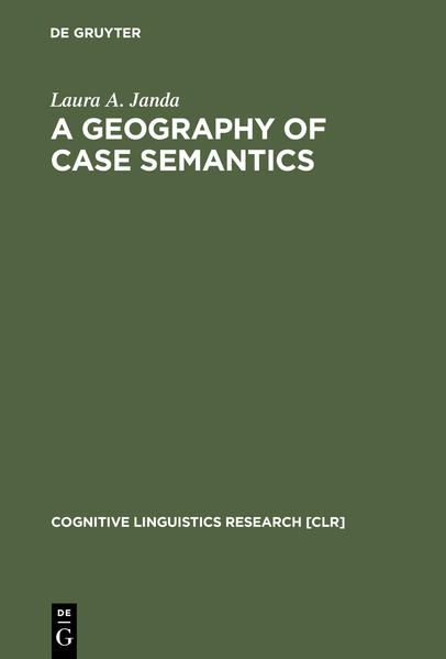 A Geography of Case Semantics - Coverbild