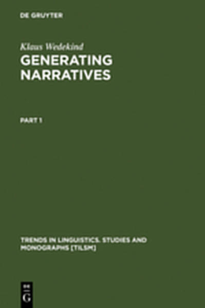 Generating Narratives - Coverbild