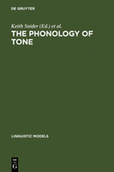 The Phonology of Tone - Coverbild