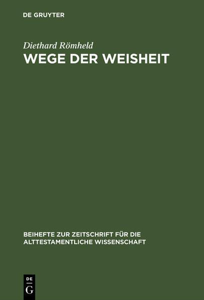 Wege der Weisheit - Coverbild