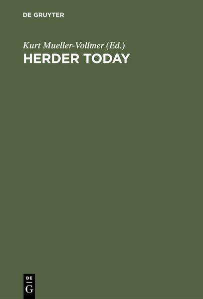 Herder Today - Coverbild