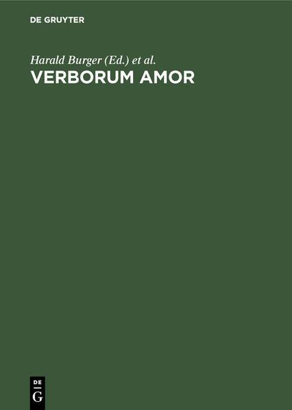Verborum Amor - Coverbild