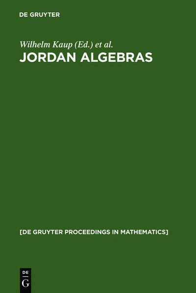 Jordan Algebras - Coverbild