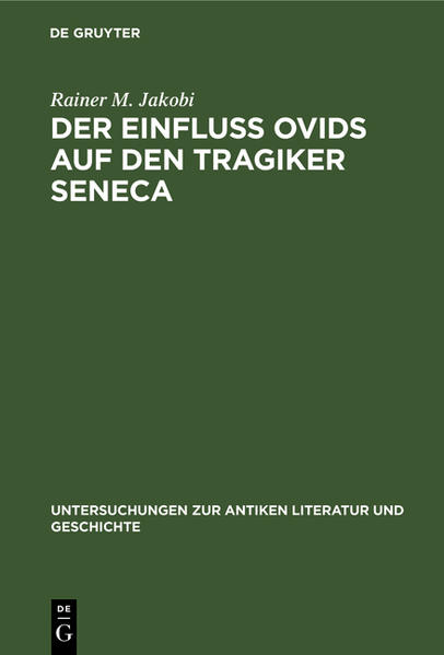 Der Einfluss Ovids auf den Tragiker Seneca - Coverbild