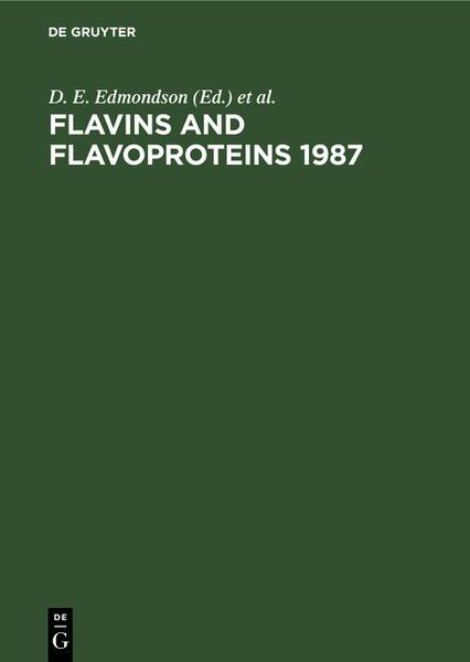 FLAVINS AND FLAVOPROTEINS   1987 (EDMONDSON/MCC) - Coverbild