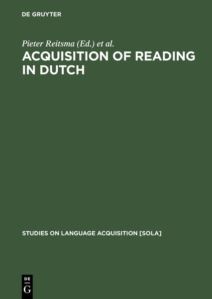 Acquisition of Reading in Dutch - Coverbild
