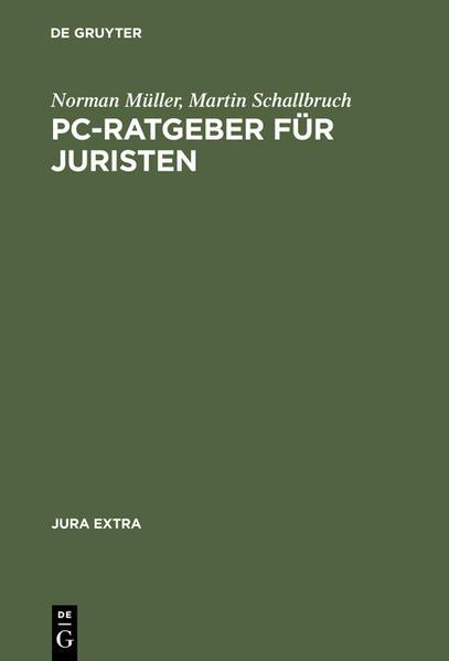 PC-Ratgeber für Juristen - Coverbild