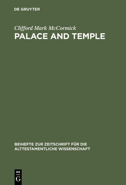 Palace and Temple - Coverbild