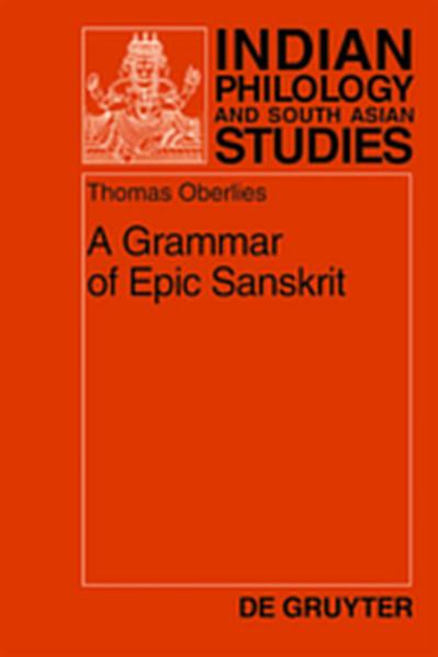A Grammar of Epic Sanskrit - Coverbild