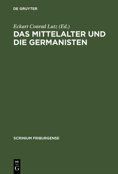 Das Mittelalter und die Germanisten - Coverbild