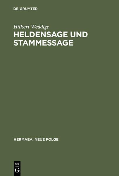 Heldensage und Stammessage - Coverbild