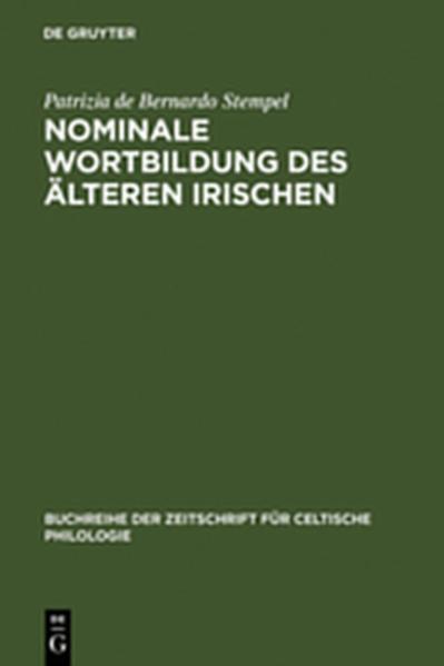 Nominale Wortbildung des älteren Irischen - Coverbild