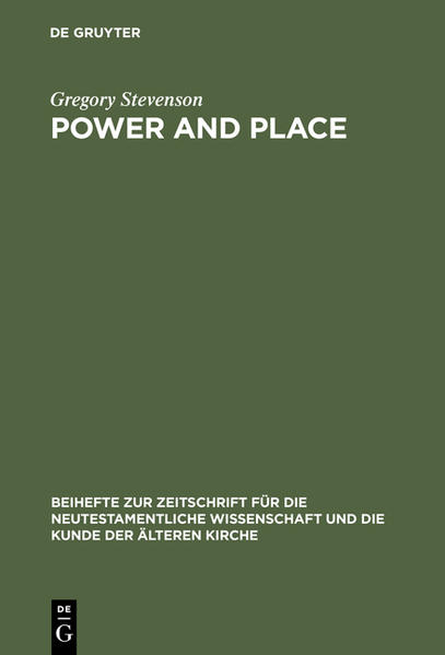 Power and Place - Coverbild
