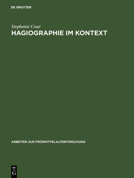 Hagiographie im Kontext - Coverbild