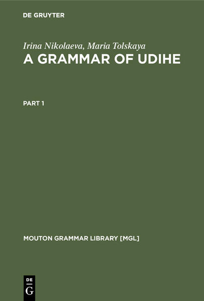 A Grammar of Udihe  - Coverbild