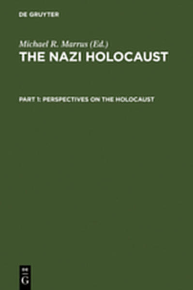 The Nazi Holocaust / Perspectives on the Holocaust - Coverbild