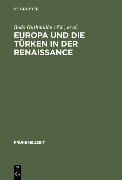 Europa und die Türken in der Renaissance - Coverbild