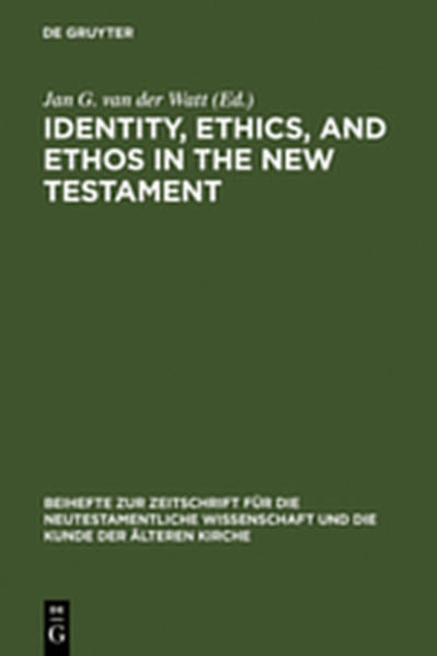 Identity, Ethics, and Ethos in the New Testament - Coverbild