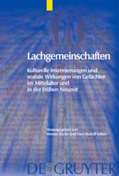 Lachgemeinschaften - Coverbild