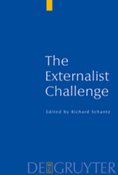 Current Issues in Theoretical Philosophy / The Externalist Challenge - Coverbild