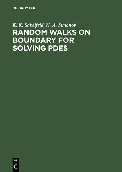 Random Walks on Boundary for Solving PDEs - Coverbild