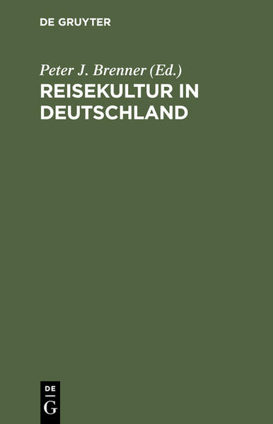 Reisekultur in Deutschland - Coverbild