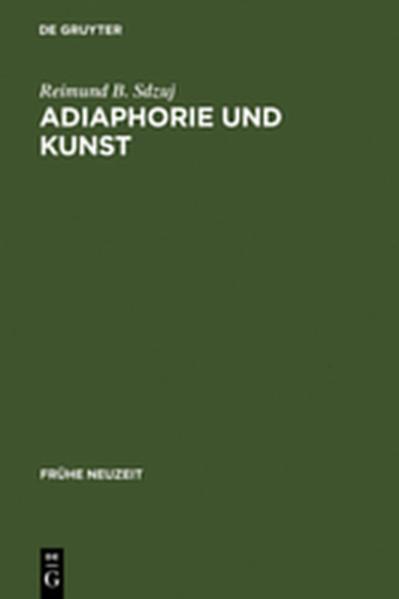 Adiaphorie und Kunst - Coverbild