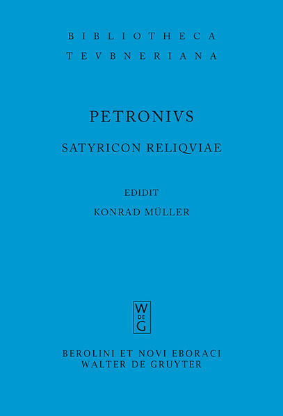 Satyricon reliquiae - Coverbild