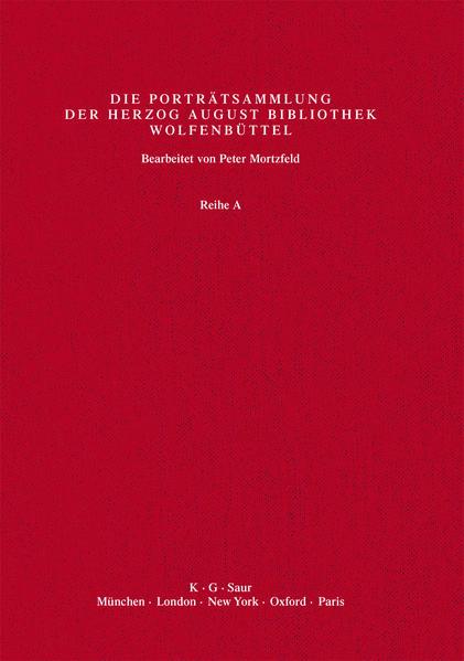Katalog der Graphischen Porträts in der Herzog August Bibliothek... / Leg - Luth - Coverbild