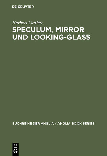 Speculum, Mirror und Looking-Glass - Coverbild